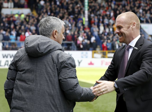 Sean Dyche has expressed his admiration for Jose Mourinho