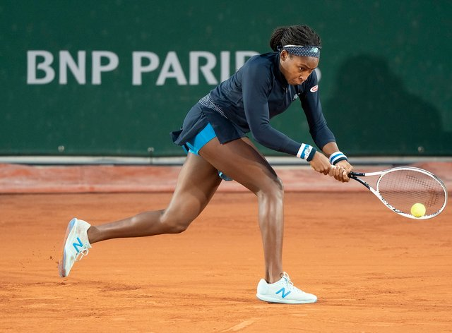 Gauff has recorded a new high ranking