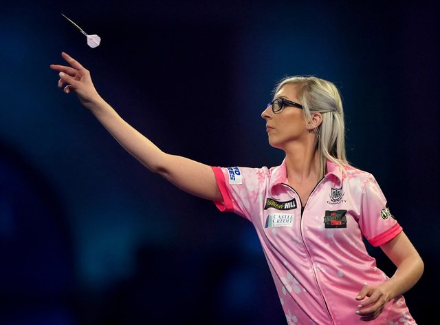 Sherrock was the first woman to ever win a match at the PDC World Darts Championships last year
