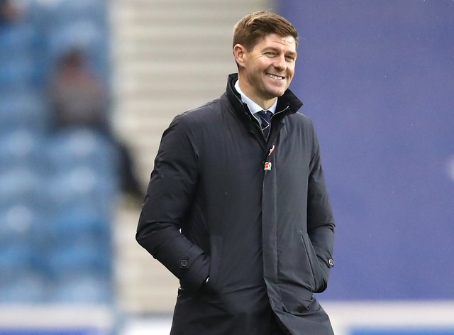 Steven Gerrard has Rangers at the top of the league