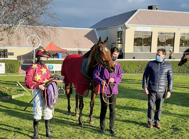 Minella Indo after winning at Wexford
