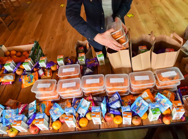 Boris Johnson is examining how to tackle the problem in response to the row over the Government's refusal to fund free school meals over the holidays