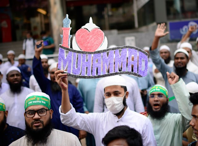 Bangladeshi protest