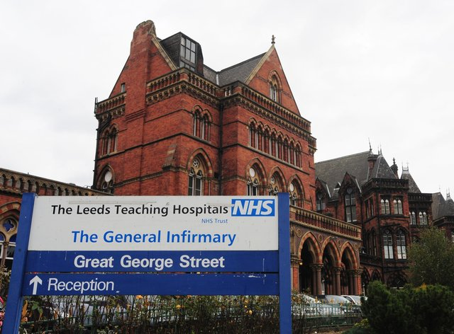 A general view of Leeds General Infirmary