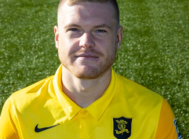 Lars Lokotsch has made five appearances since joining Livi in Augus