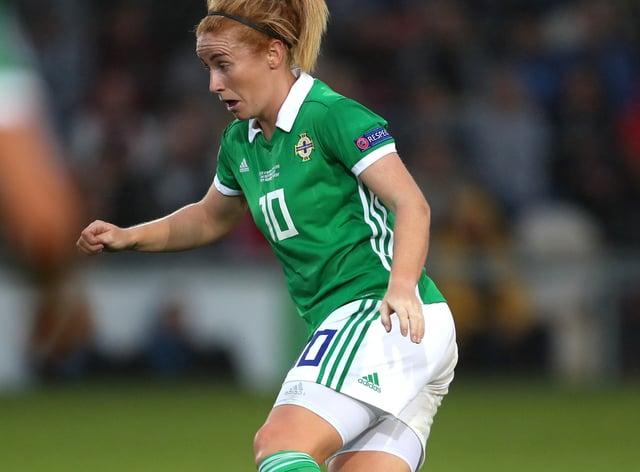 Rachel Furness scored for Northern Ireland