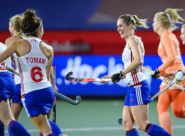 GB hockey come away with one point in Amsterdam