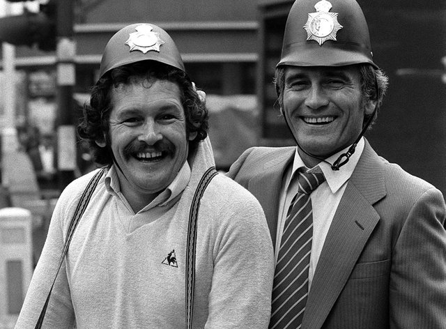 Bobby Ball and Tommy Cannon