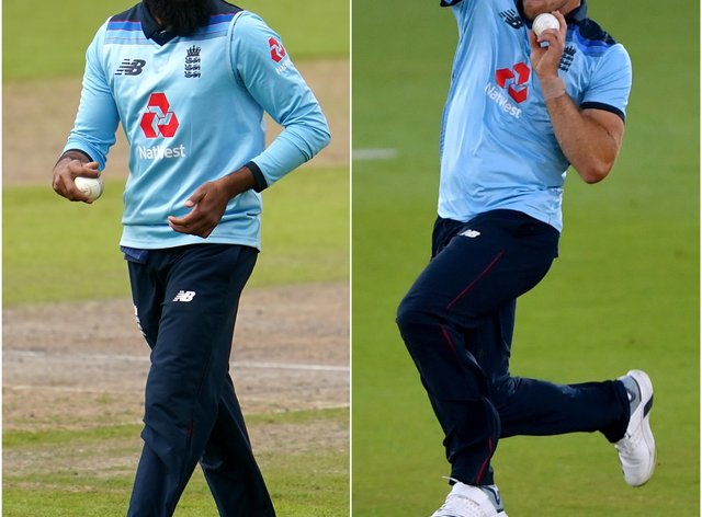 Adil Rashid and David Willey have been retained by the Northern Superchargers