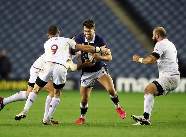 Adam Hastings has made way for Finn Russell