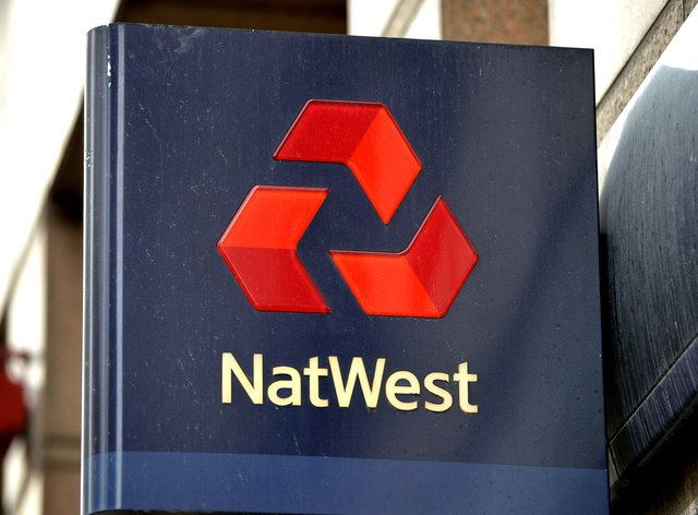 A NatWest sign