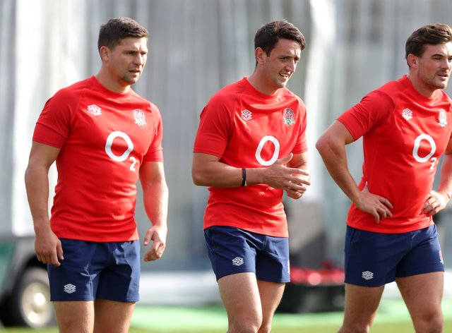 Ben Youngs (left), is set to win his 100th cap