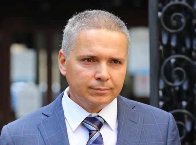 Russian businessman Aleksej Gubarev (Aaron Chown/PA)