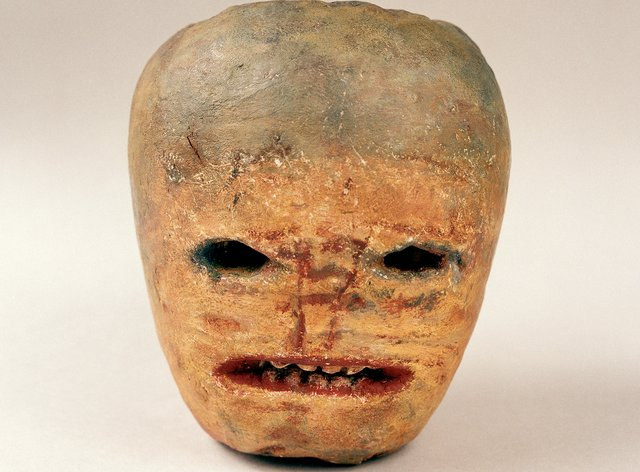 Halloween ghost turnip, Co Donegal, 1943