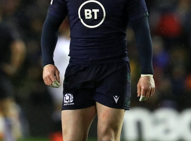 Stuart Hogg will lead out Scotland on Saturday (Andrew Milligan/PA)