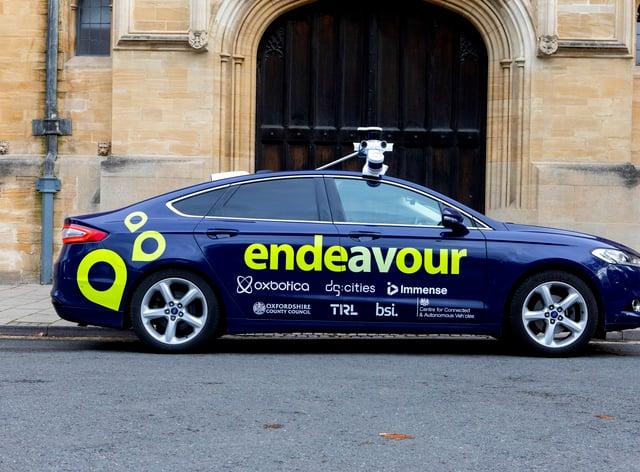 A Project Endeavour car