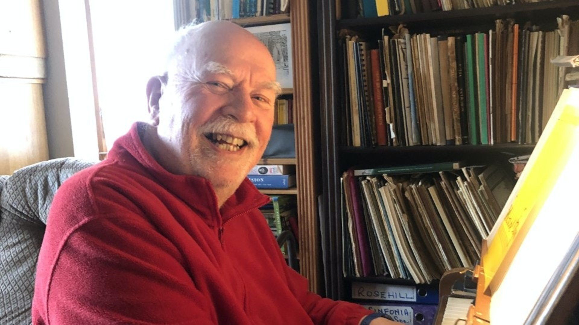 Amazing composition by ex music teacher with dementia goes to No 1