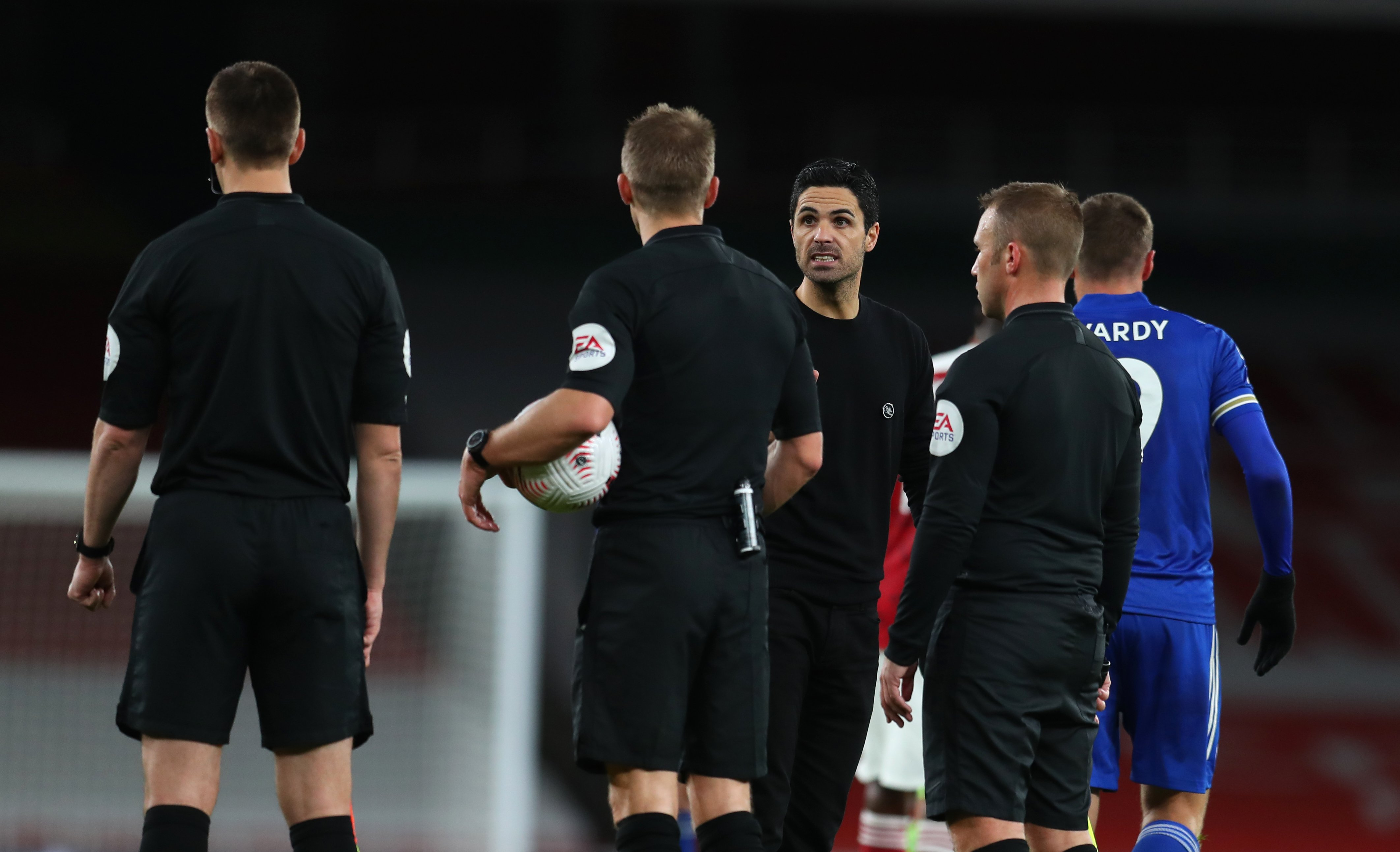 Mikel Arteta takes Leicester gameplan as sign of respect