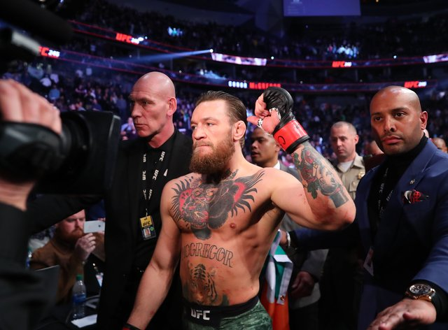 McGregor is expected to make his UFC return in January