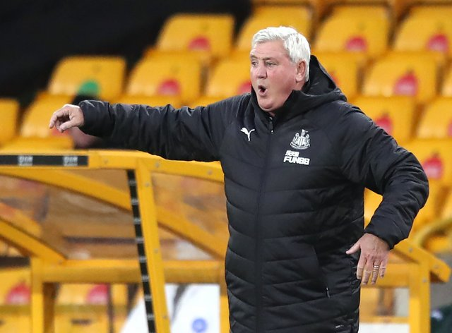 Steve Bruce hopes he can lead Newcastle to a top-10 finish (Alex Pantling/PA)