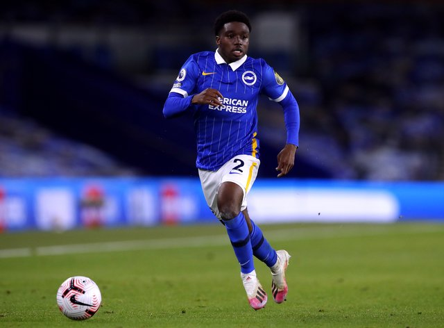 Tariq Lamptey has been tipped to go to the top by Brighton boss Graham Potter