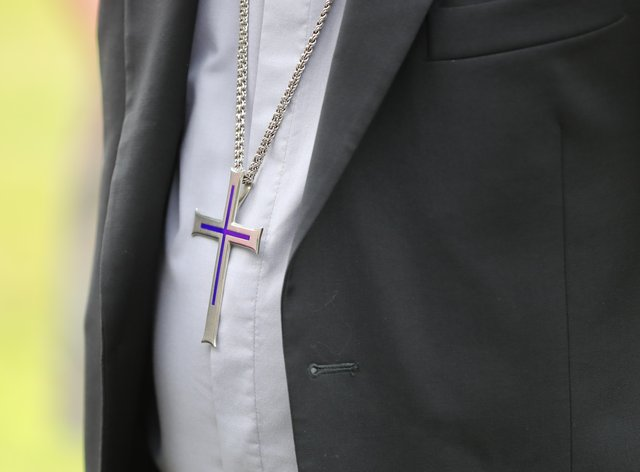 Church leaders have reacted to Saturday's announcement that most religious services will be banned from Thursday