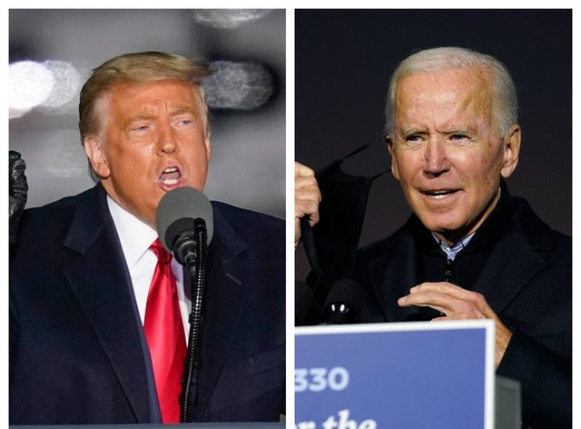 Donald Trump and Joe Biden are counting down the last couple of polling days