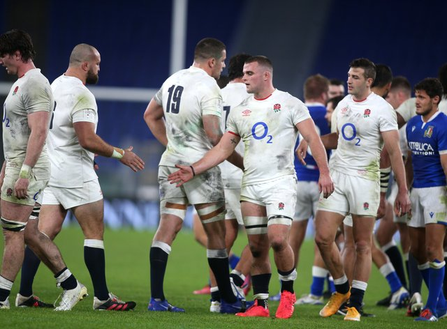 England won their third Six Nations title in five years in Italy
