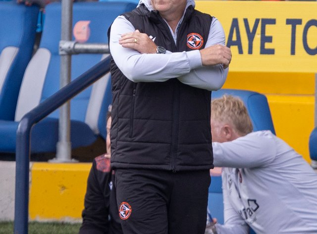 Micky Mellon hopes Dundee United's off-field issues will not affect his players