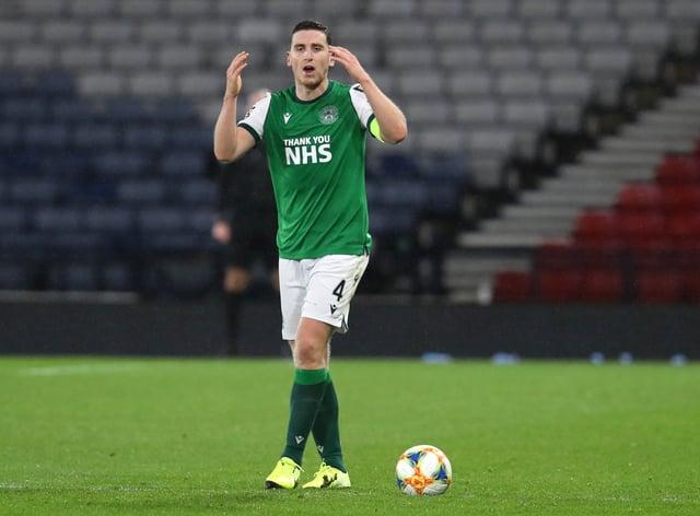 Paul Hanlon wants good Hibernian reaction after cup defeat