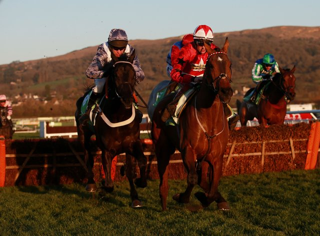 The New One (right), who won 18 races with Sam Twiston-Davies aboard