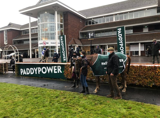Dromore Lad after winning the Cork National