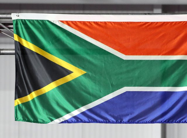 The flag of South Africa (Danny Lawson/PA)