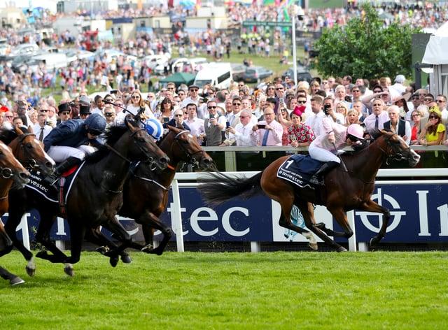 Anthony Van Dyck won last year's Derby