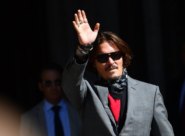 Johnny Depp's blockbuster libel trial against The Sun newspaper played out over three weeks in July at the Royal Courts of Justice in London (Victoria Jones/PA)