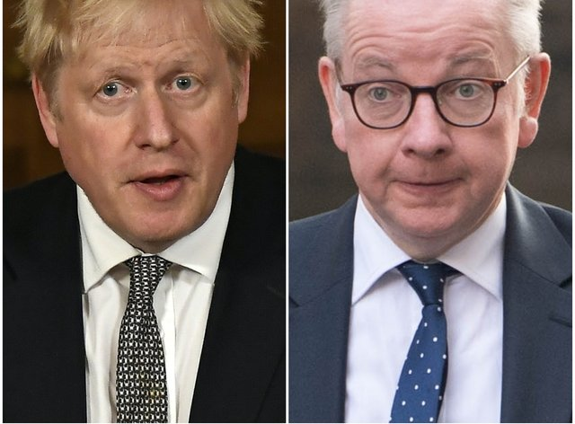 Boris Johnson and Michael Gove have offered different visions for the length of England's lockdown