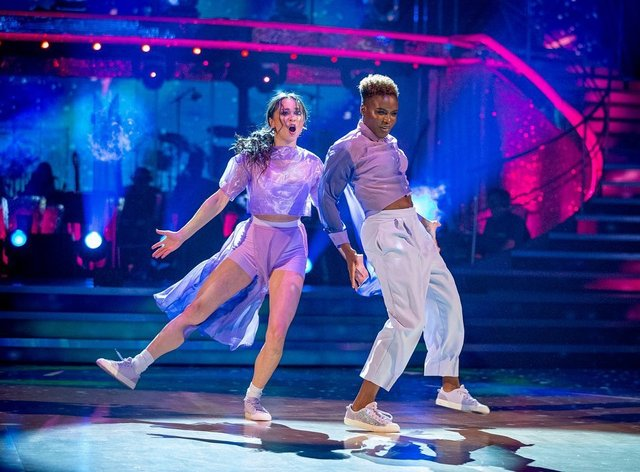Strictly went ahead as planned despite the government's plea to push it back