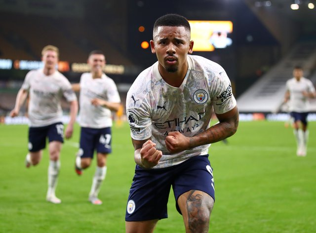 Manchester City striker Gabriel Jesus is nearing a return to action after injury