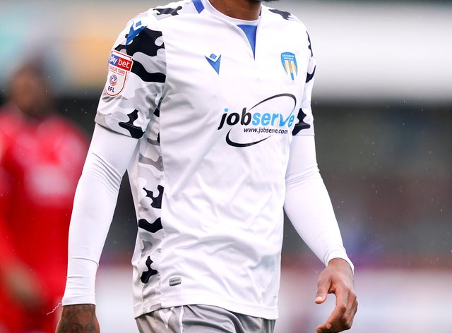 Jevani Brown is pushing for a start for Colchester