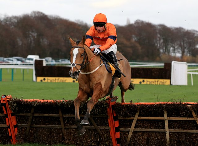 Sam Spinner could go back hurdling at Newbury later this month