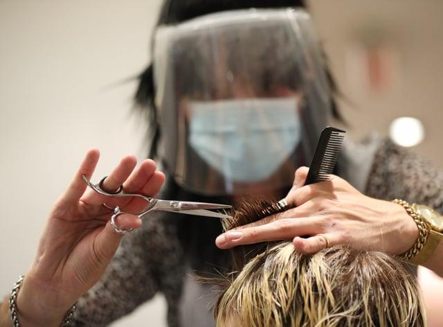 Generic image of haircut