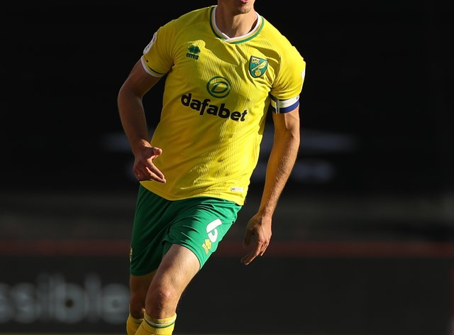 Norwich's Christoph Zimmermann has been recovering from a calf problem
