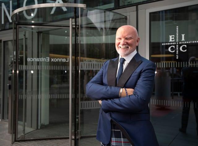 Sir Tom Hunter donated £1 million to dementia charities (