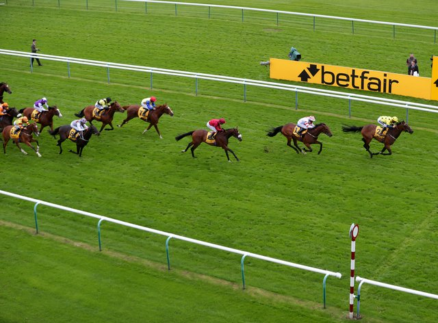Euchen Glen (right) heads the entries for the Betfair November Handicap at Doncaster