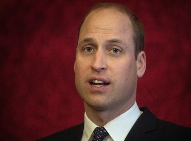 The Duke of Cambridge has been criticised by anti-monarchy group for keeping Covid-19 diagnosis secret. Victoria Jones/PA Wire