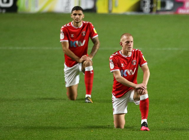 Ben Watson (right) and Ryan Inniss could return for Charlton after suspension