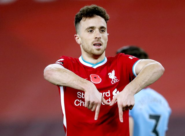 Liverpool's Diogo Jota has made an immediate impact for his new club