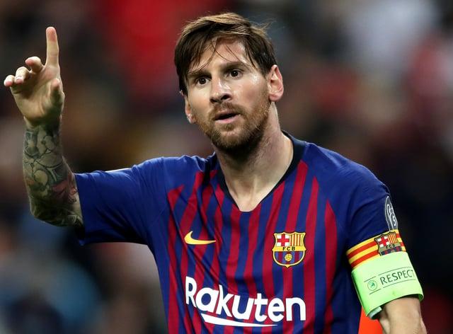 Lionel Messi's future at Barcelona is uncertain