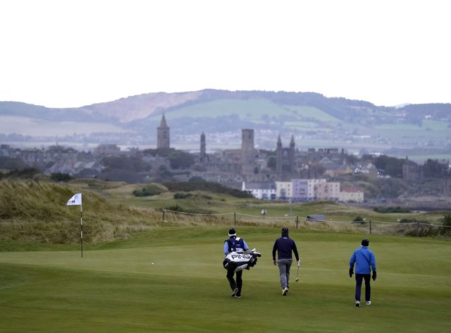 Golf courses and tennis courts are due to close from Thursday