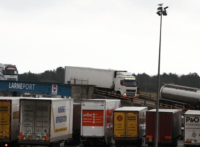 Haulage at a port